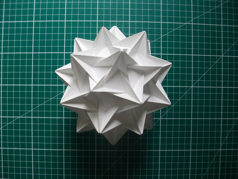 Completed dodecahedron 2. Alex Pentek 2014.